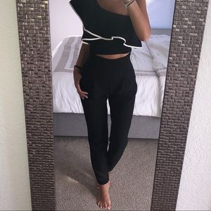 Bebe high waisted pants